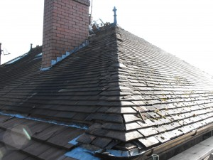 Tile roof to repair in Manchester