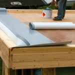 Installing Alwitra flat roofing membrane