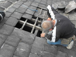 Repairing roofs in Manchester